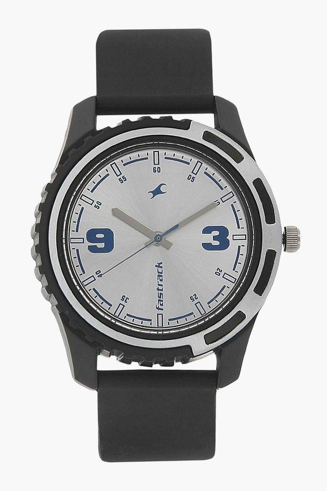 Mens Analogue Round Dial Watch - NJ3114PP02C
