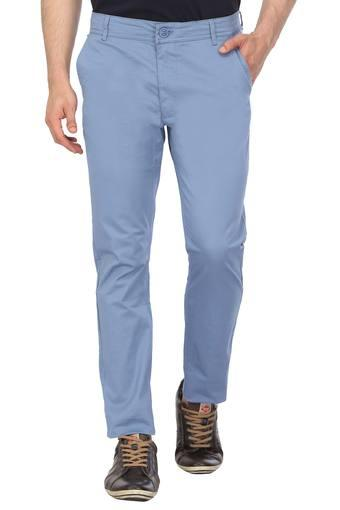 BEING HUMAN -  Mid Blue Cargos & Trousers - Main