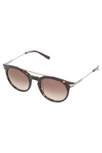 Unisex Gradient Round Sunglasses - FOS2029STLFS8