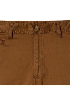 Mens 5 Pocket Solid Chinos