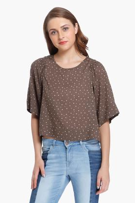 ONLY Womens Printed Casual Top