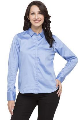 FRATINI WOMAN Womens Solid Formal Shirt