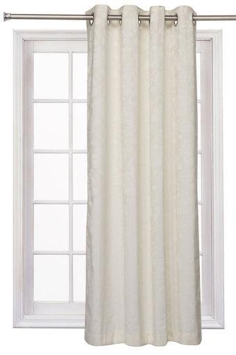 A024 -  WhiteWindow Curtain - Main