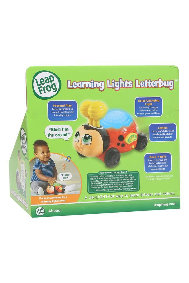 Unisex Learning Light and Letter Bug Toy