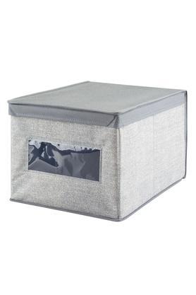 INTERDESIGNSquare Closet Organizers Storage Box With Lid