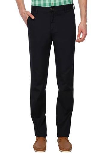ALLEN SOLLY -  Dark BlueCargos & Trousers - Main