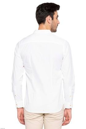LIFE - White Casual Shirts - 1