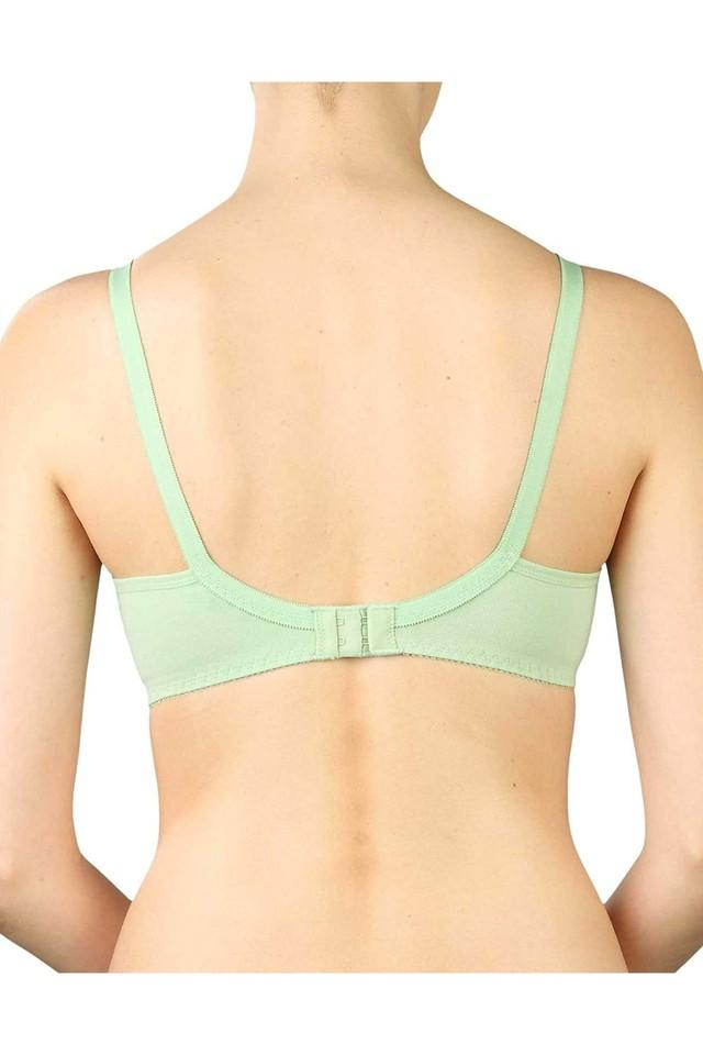 Women Solid Non Wired Non Padded Medium Coverage Bra