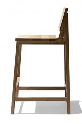 Natural Fairley Bar Chair