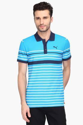 PUMAMens Stripe Polo T-Shirt - 203162263