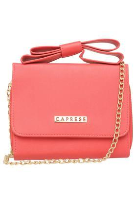 662cb025b X CAPRESE Womens Casual Wear Snap Closure Sling Clutch