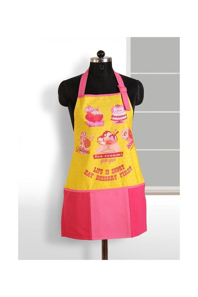 Printed Kitchen Apron