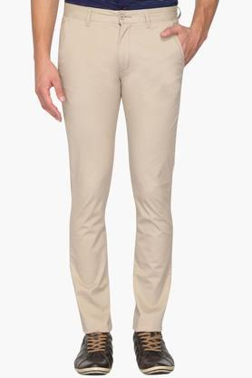 IZOD Mens Slim Fit 4 Pocket Solid Chinos - 202954376