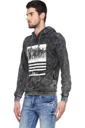 Mens Hooded Neck Printed Sweatshirts