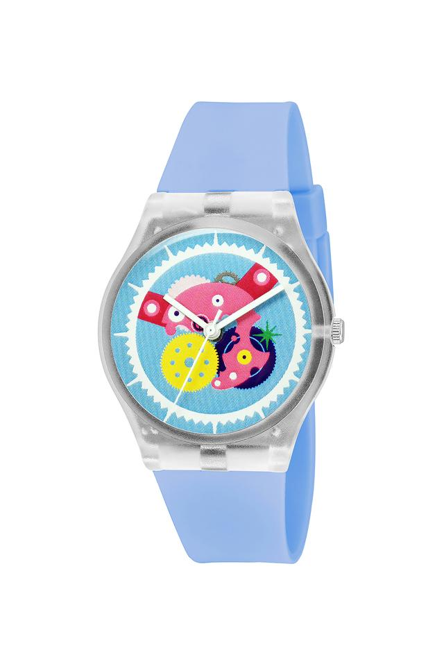 Unisex Plastic Analogue Watch - FIBER01SB02