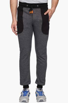 STATUS QUO Mens 4 Pocket Slub Track Pants