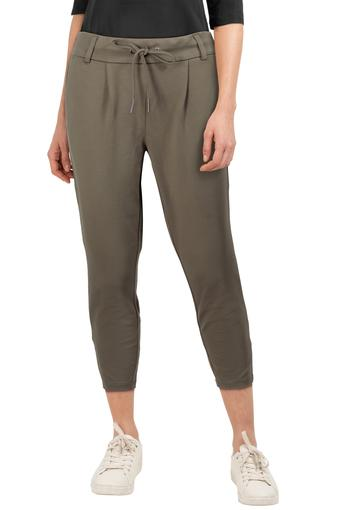 ONLY -  Dark Olive Trousers & Pants - Main
