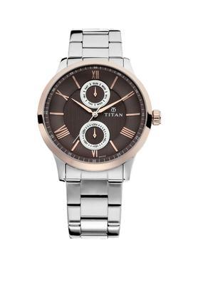 Mens Analogue Metallic Watch - 90100KM01