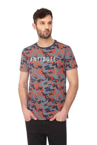 VETTORIO FRATINI -  Royal Blue T-shirts - Main