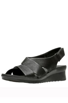 CLARKS Womens Casual Wear Velcro Closure Wedges