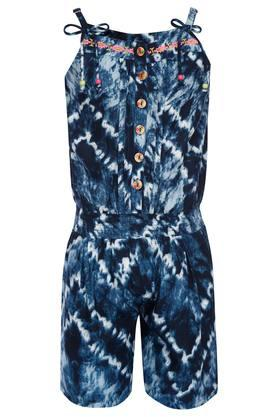 ea32efc68f6 X PEPPERMINT Girls Strappy Neck Printed Jumpsuit