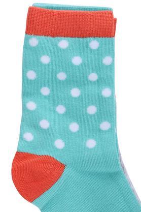Girls Printed Socks Pack of 3