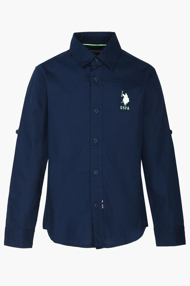 Boys Solid Shirt