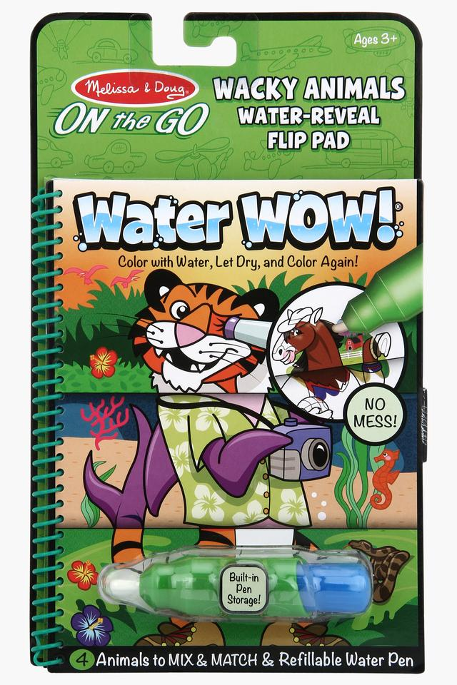 Unisex Animal Water Reveal Pad with Refillable Water Pen