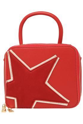 GIORDANOWomens Zipper Closure Box Sling Bag