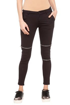 ecb5a95d6161d X LIFE Womens Solid Pants