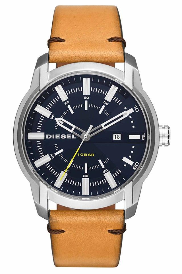 Mens Analogue Leather Watch - DZ1847I
