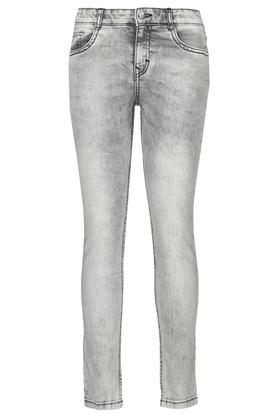 Boys Skinny Fit Acid Wash Jeans