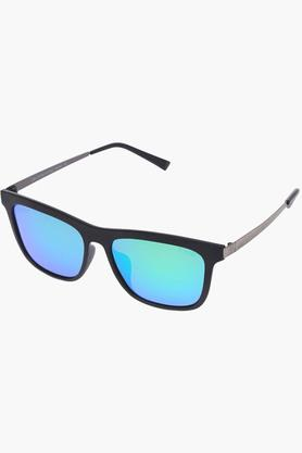LIFE Mens Mirror Polarized Wayfarer Sunglasses - LIO59C12