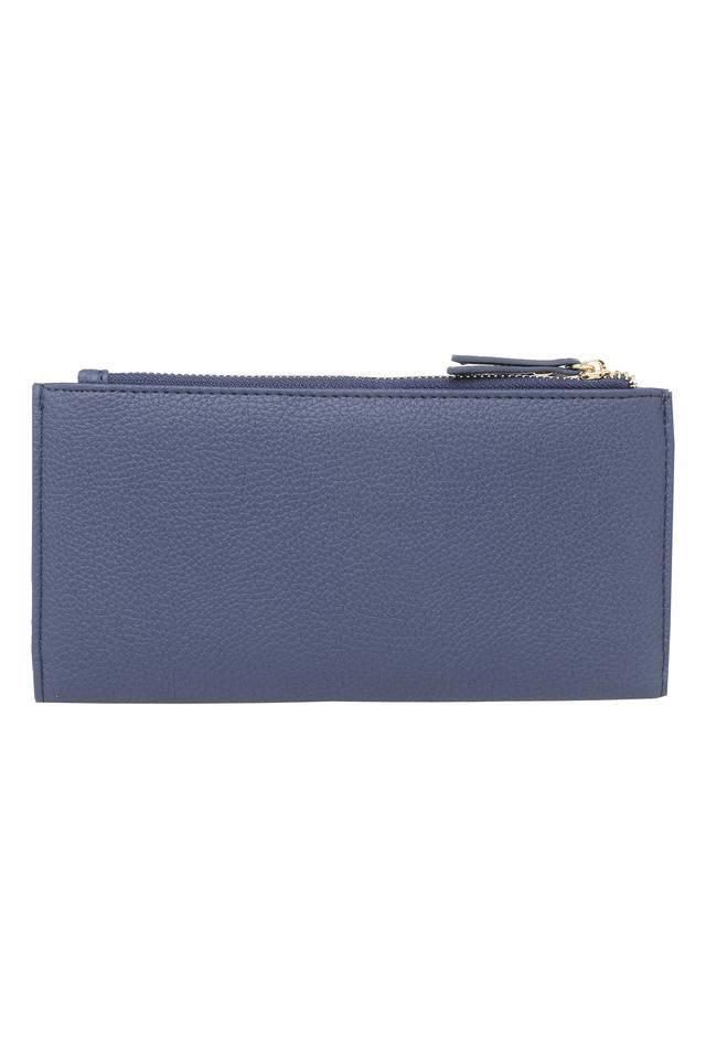 Womens Button Closure 1 Fold Wallet