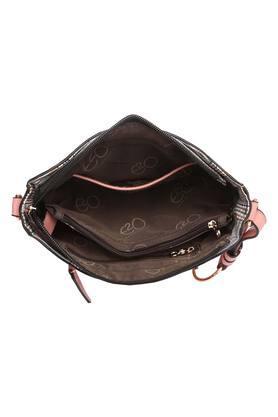 Womens Loop Closure Satchel Handbag