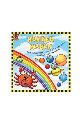 Number March - See fixed sets of numbers around you develop pre - maths skills Picture Book with GK