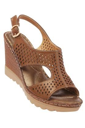 CATWALK Womens Casual Wear Buckle Closure Wedges
