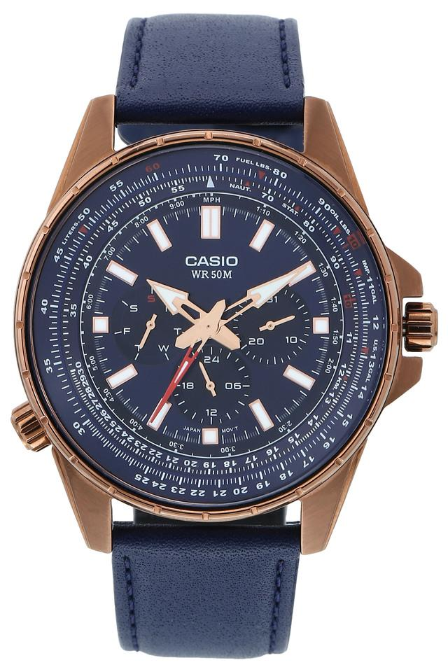 Mens Blue Dial Multi-Function Watch - A1566