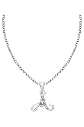 SILVER IMPRESSIONSparkles 18 Kt 0.02 Cts Diamond Pendant - PXP8750