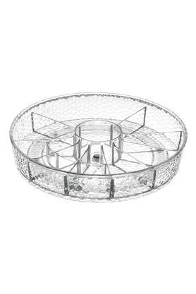 INTERDESIGNTransparent Round Spinner Cosmetic Organizer