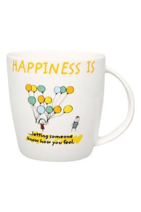 Unisex Round Printed Letting Someone Know How You Feel Mug