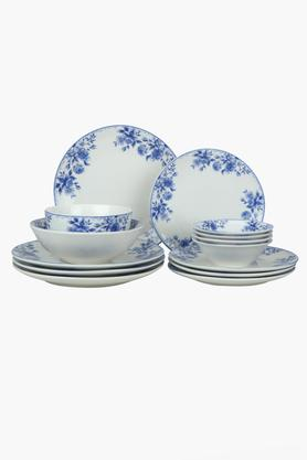 Porcelain Printed Dazzle Dinner Sets - 14 Pieces