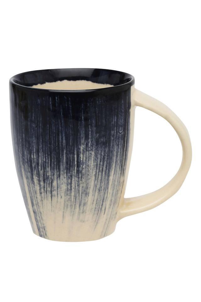Round Brush Stroke Flair Mug