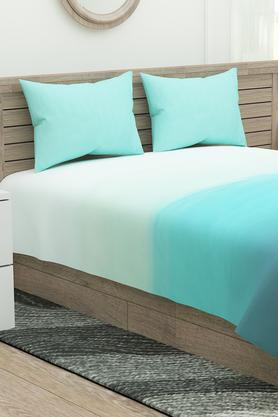 Ombre Extra Large Bedsheet with Pillow Covers