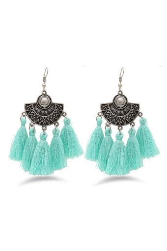 Womens Tassel Drop Earrings