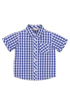 Boys Checked Casual Shirt