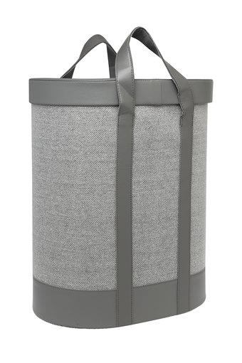 Cylindrical Laundry Basket with Handle