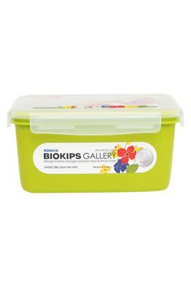 Rectangular Colour Block Container with Lid - 2.400 ml