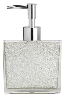 Square Shimmer Finish Soap Dispenser