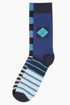 VETTORIO FRATINI Mens Stripe Socks Pack Of 2